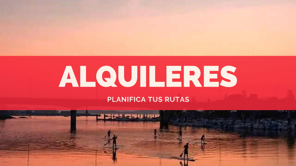 alquileres paddle surf